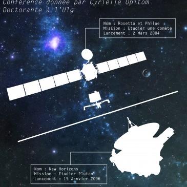 Conférence : Rosetta et New Horizon