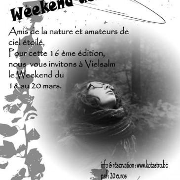 Week End Astro-Nature à Vielsalm
