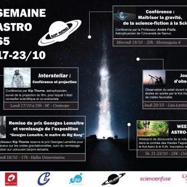 Semaine de l'astro, 7 jours d'activités astronomiques !