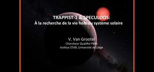 1erePage Conférence Trappist